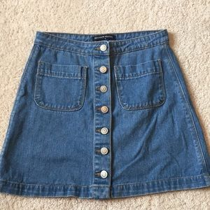 Brandy Melville Jean Skirt